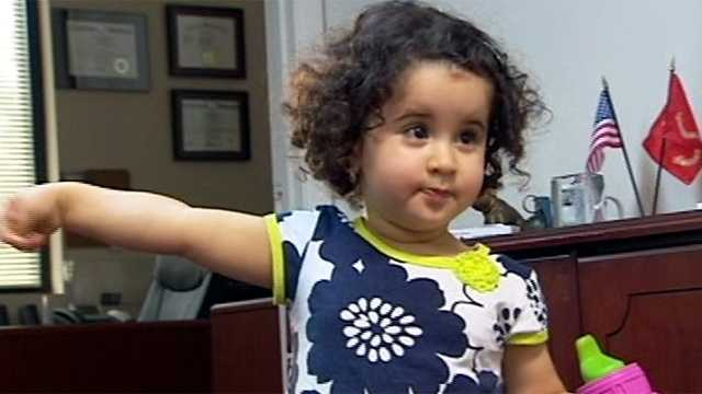 WPBF 25 News' Ari Hait broke this story that made national headlines in May. An 18-month-old girl named Riyanna was yanked off a plane because she was on a TSA no-fly list. Read the full story here.