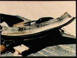 View of the SRB recovery during STS 51-L investigation