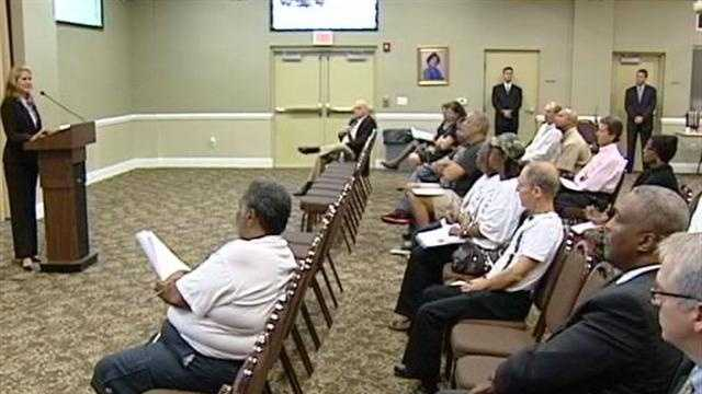 Six candidates are vying to become the next West Palm Beach police chief.