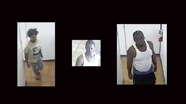 Police say this trio is believed to have used a debit card stolen during a vehicle burglary at Sportsman's Park.