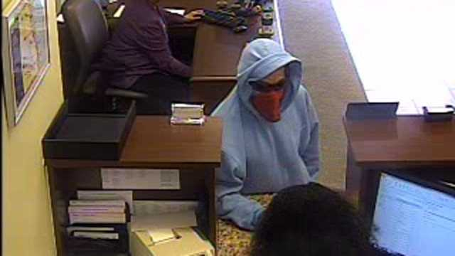Police say this man robbed the Harbor Community Bank in Fort Pierce.