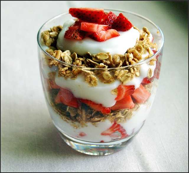 June 25th is National Strawberry Parfait Day. (jamailac/flickr)