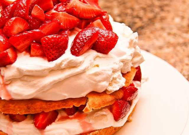 June 14th is National Strawberry Shortcake Day. (princedd/flickr)