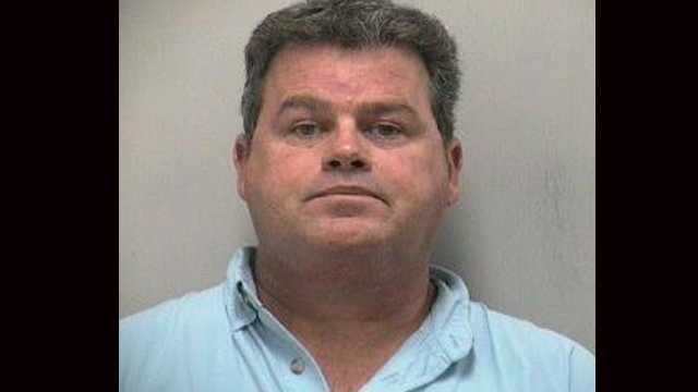 John McCarthy is accused of pulling a gun on a man who was smoking a cigarette while pumping gas in Jensen Beach.