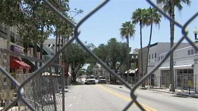 Work has begun on a project to beautify Clematis Street.