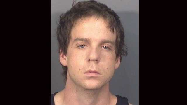Nicholas Mirisola is accused of robbing a Delray Beach bank and then getting away in a taxi.