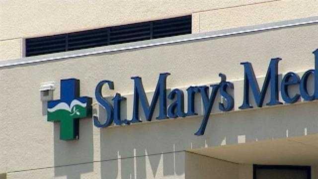 St. Mary's Medical Center closeup
