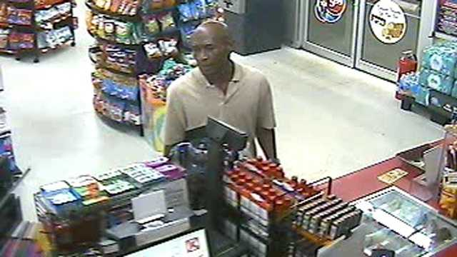 Palm Beach County sheriff's detectives say this man robbed a Circle K in Lake Worth.