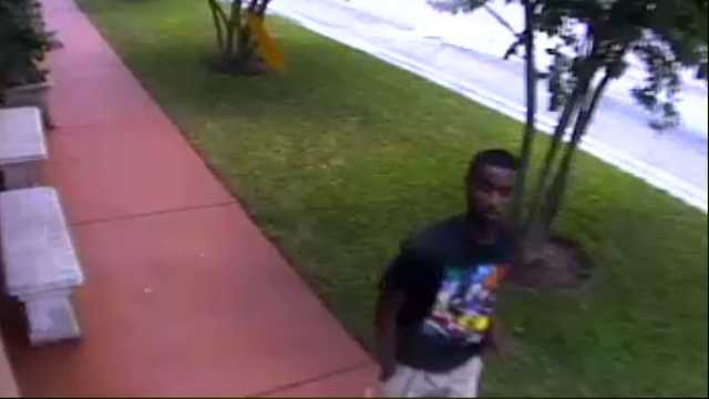 This is the man who deputies say robbed two customers outside the Okeechobee Steak House.
