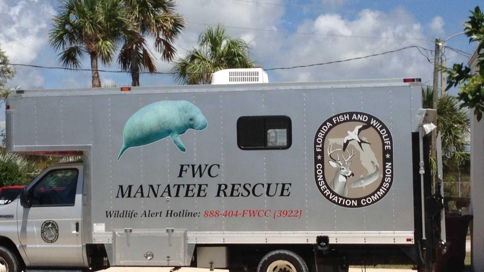Manatee Rescue vehicle