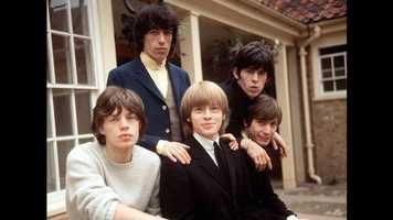 """The Rolling Stones made their first appearance on """"The Ed Sullivan Show"""" on Oct. 24, 1964. They would appear five more times between 1965 and 1969, a testament to their growing popularity. This picture was taken a little more than a month before their first appearance."""