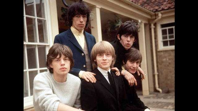 "The Rolling Stones made their first appearance on ""The Ed Sullivan Show"" on Oct. 24, 1964. They would appear five more times between 1965 and 1969, a testament to their growing popularity. This picture was taken a little more than a month before their first appearance."
