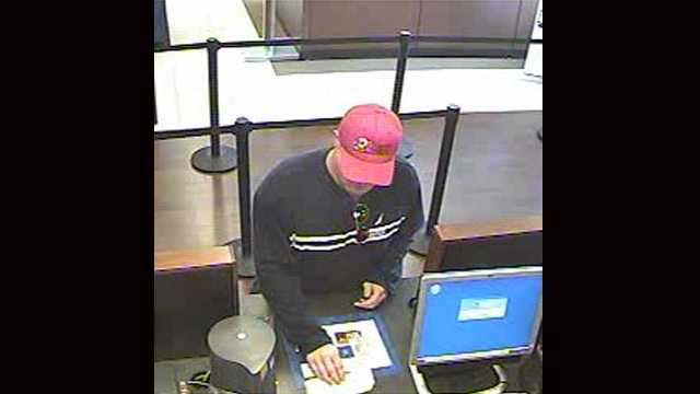 The FBI is looking for this man who robbed a Chase branch in Pompano Beach.