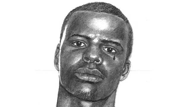 This is the sketch of a man who shot a victim during a home-invasion robbery in North Lauderdale.