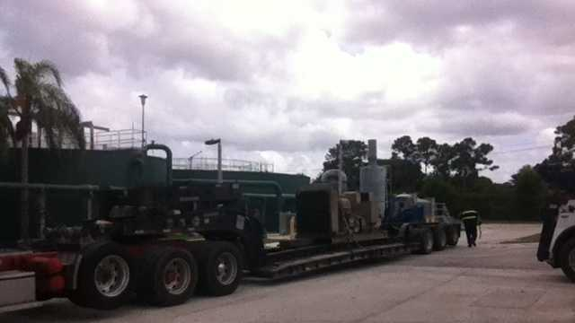 This generator was sold in Martin County's online auction.