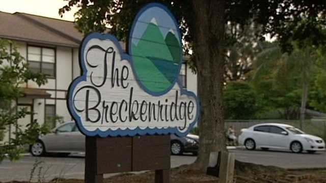 A man who was shot at the Breckenridge apartments wasn't cooperating with investigators. (Olivia Ciuperger/WPBF)