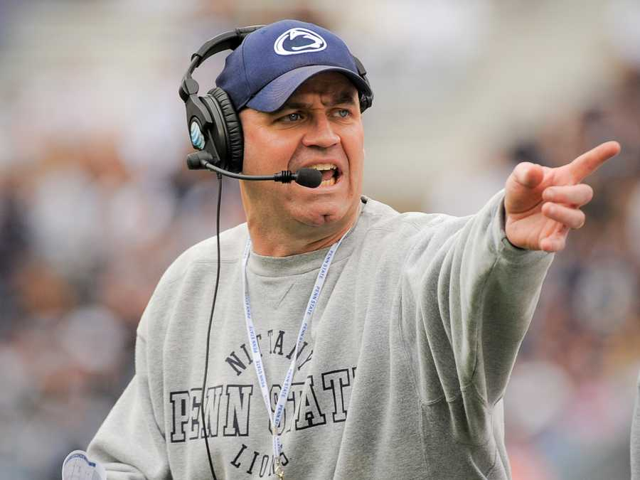 Penn State coach Bill O'Brien steps into the shoes of longtime coach Joe Paterno amid NCAA sanctions, lawsuits and a general unease in State College. O'Brien helped guide the New England Patriots' offense to the Super Bowl, but can he lead a tattered -- but determined -- Nittany Lions to similar success? (Photo:Penn State Athletics)