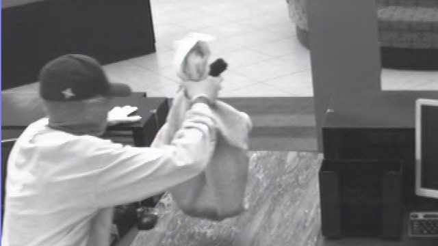 The FBI is trying to identify this man who robbed a Bank Atlantic branch in Deerfield Beach.