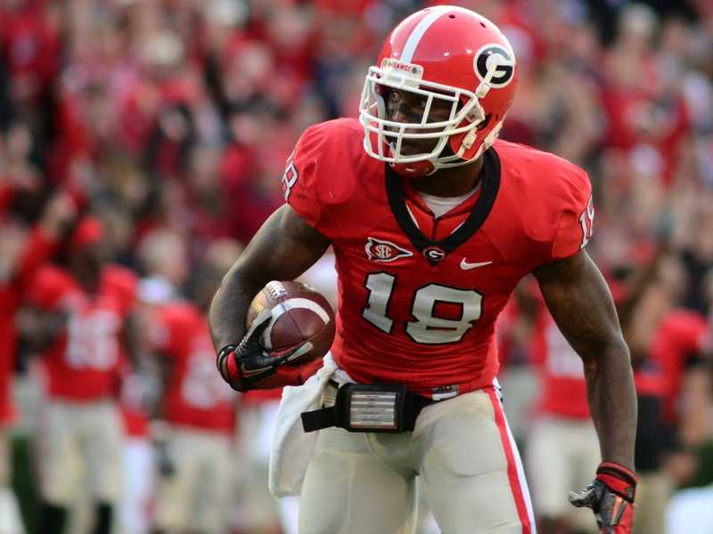 Step aside, Sylvester Stallone. Georgia safety Bacarri Rambo is doing battle on the football field for the Bulldogs this year. (Photo: Georgia Athletics)