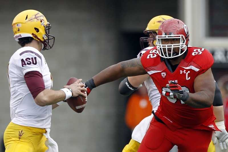 Utah defensive tackle Star Lotulelei is, true to his name, a star on the field for the Utes. (Photo: University of Utah Athletics)