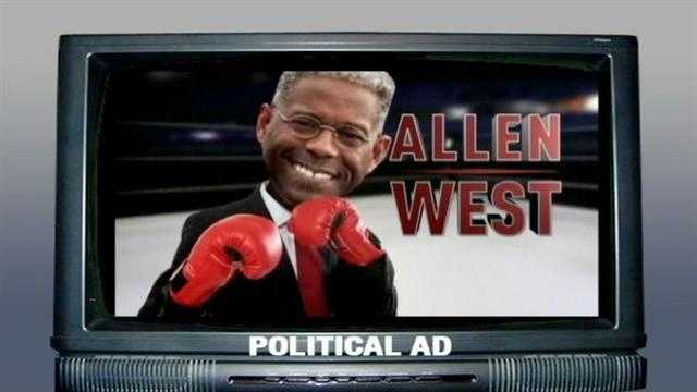 Allen West supporter William Snyder says he was personally offended by a political attack ad targeting the congressman.