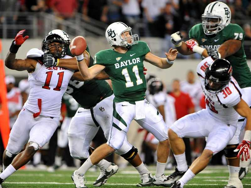 Baylor's Nick Florence only has to replace Robert Griffin III. No big deal, right? (Photo: Baylor Athletics)