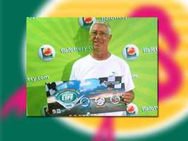 Gerard Lamothe of Tallahassee won gas for a year.