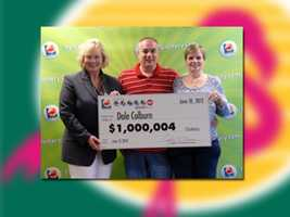 Dale Colburn of Plantaion won $1 million.