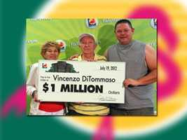 Vincenzo DiTommaso of Hialeah won $1 million.