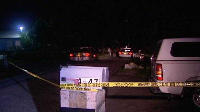 Deputies say a man was shot in the leg Monday night on Holt Road.