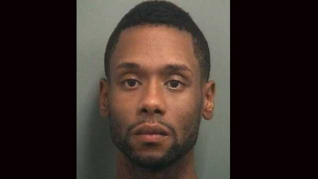 Carlton Hamilton is accused of shooting Andre Mohamed in the arm during a fight at a party in Delray Beach.