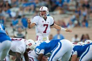 Brett Nottingham was Stanford's backup quarterback behind No. 1 NFL Draft pick Andrew Luck last season, but Josh Nunes has been anointed the starter in 2012. (Photo: Stanford University)