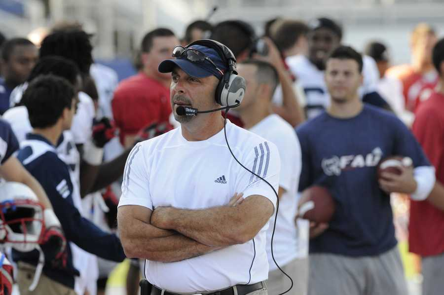 Former Nebraska defensive coordinator Carl Pelini has big shoes to fill after the retirement of Howard Schnellenberger. Pelini takes over for an FAU Owls team that won just one game last season. (Photo: FAU)