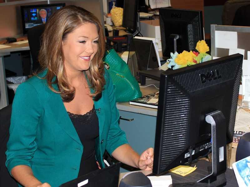 Anchor and reporter Erin Guy: San Francisco, 27-21