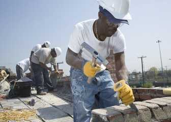 7. Brickmasons and Blockmasons - 35.9% growth (+1,815 jobs) - $16.37