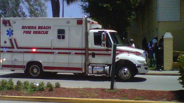 Police investigate a fatal shooting in Riviera Beach.