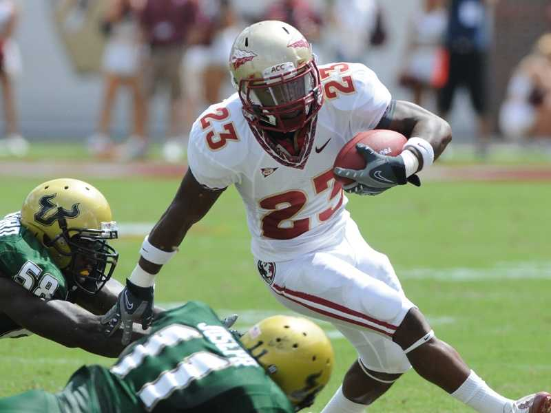 South Florida upset Florida State 17-7 at home in 2009. The Seminoles will be looking for payback when they travel to Tampa for their first road game of the season. Senior running back Chris Thompson is recovered from last October's back injury that ended his season. Meanwhile, the Bulls are looking for improvement this year after suffering through their first losing season since 2004. (Photo: FSU Sports Information)
