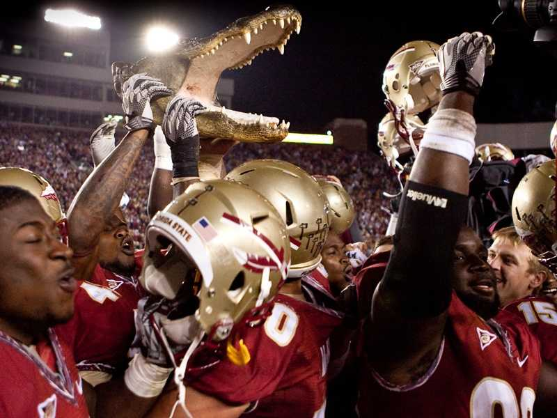 After six straight victories against Florida State from 2004-09, the Gators have lost two in a row. The Seminoles dominated Florida 31-7 when the Gators last traveled to Tallahassee in 2010. (Photo: FSU Sports Information)