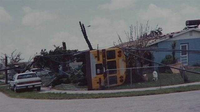 Hurricane Andrew made landfall in South Florida on Aug. 24, 1992.