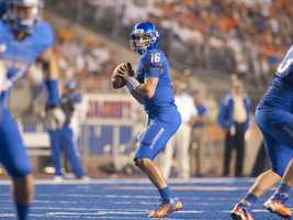 Redshirt junior Joe Southwick beat out redshirt sophomore Grant Hedrick, redshirt freshman Jimmy Laughrea and true freshman Nick Patti, who is from Orlando, to replace Boise State quarterback Kellen Moore. (Photo: Boise State Sports Information)