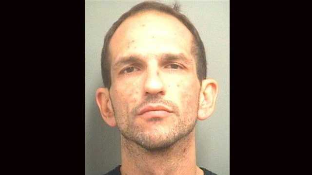 Eric Taub is accused of robbing a bank in Stuart and Palm Beach County.