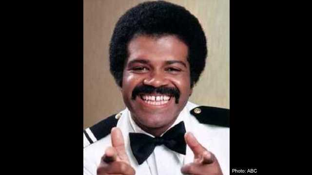 """His real-life name might escape you, but who can forget Isaac from """"The Love Boat?"""" (Photo: ABC)"""