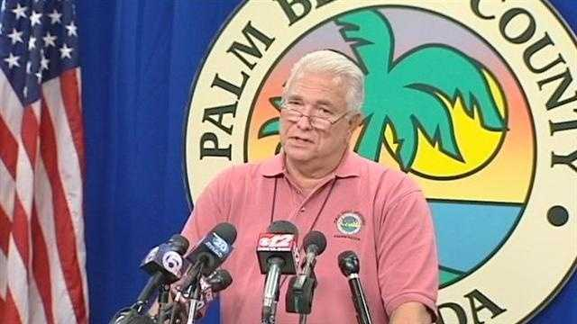"Vince Bonvento tells residents to ""take this seriously"" as Tropical Storm Isaac nears Florida."