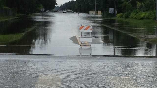 Acreage flooding