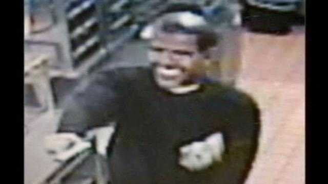 Police say Marvin McTeare is accused of robbing a Riviera Beach McDonald's in January while wearing a President Barack Obama mask.