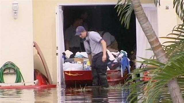 Who is responsible for pumping floodwater from Tropical Storm Isaac out of your yard and street? It all depends on where you live.
