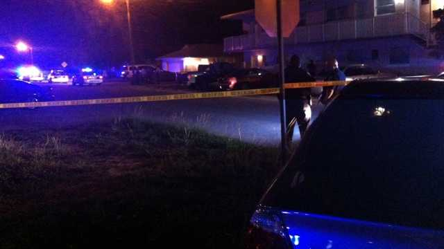For the second time in three nights, a teenager was shot in Riviera Beach. (Photo: Olivia Ciuperger/WPBF)