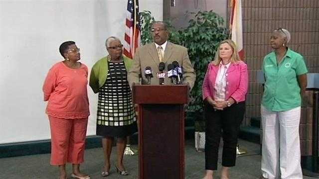 Riviera Beach news conference on Newcomb Hall shooting