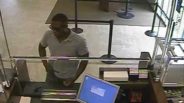 The FBI says this man robbed a Chase branch on Commercial Boulevard in Tamarac.