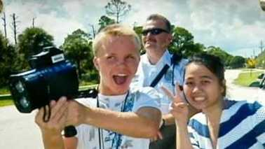 Jupiter Police Officer Bruce St. Laurent was hard on speeders, but he enjoyed spending time with local high school students, and there's no shortage of pictures as evidence.